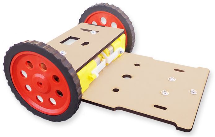 7 MDF Basic robotic chassis