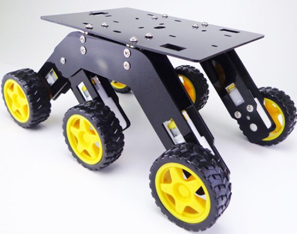 6WD Curious chassis 2
