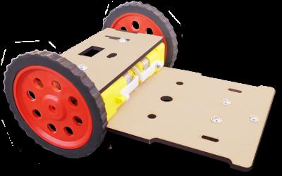 7 MDF Basic robotic chassis